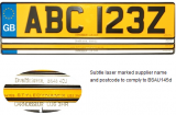 UK Legal pressed plates
